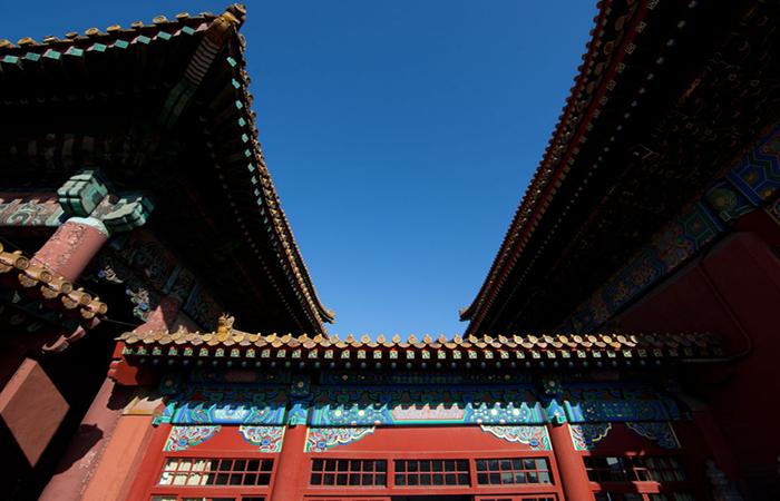 中国传统建筑文化:明清官式建筑的色彩搭配