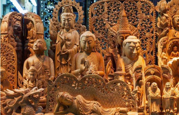 木雕装饰的魅力以及长期保持色彩光泽方法