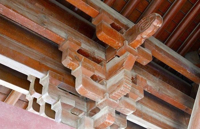 古建筑斗拱结构分解图