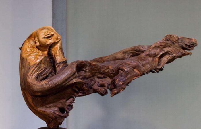"""传统雕刻艺术之""""根雕""""的发展历史以及制作工艺"""