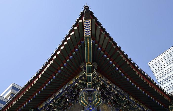 浅谈斗拱在中国古建筑中的应用