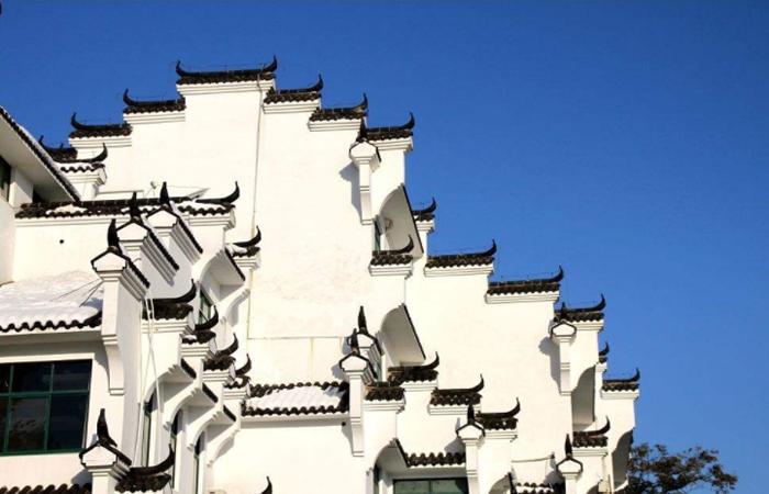 中国古建筑——经典别致的马头墙元素