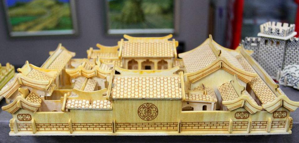 古建筑模型