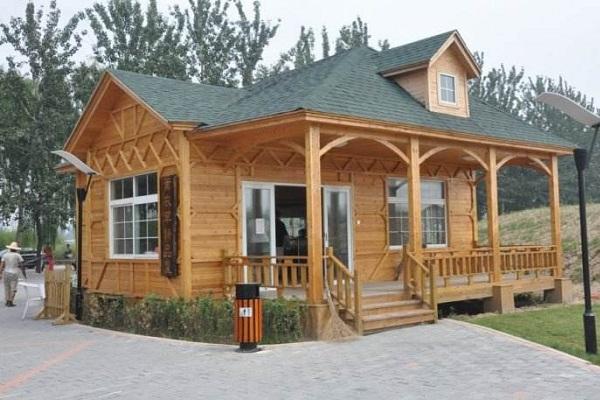 防腐木屋别墅