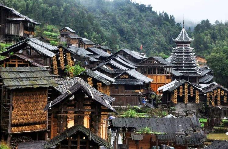 贵州侗族民居