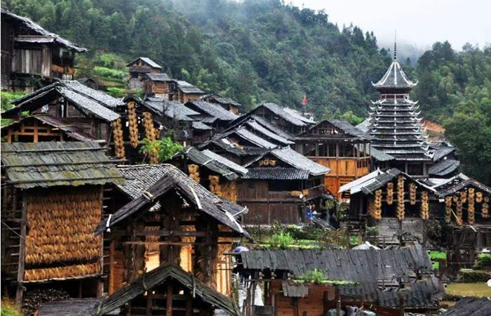 贵州侗族古建民居:浓郁的民族特色