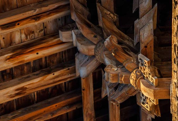 木结构建筑中榫卯技术