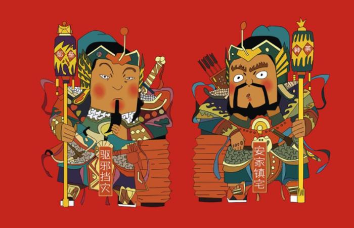 春节即将过去,回顾一下年俗与年节的色彩文化!