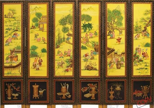 古典屏风图片