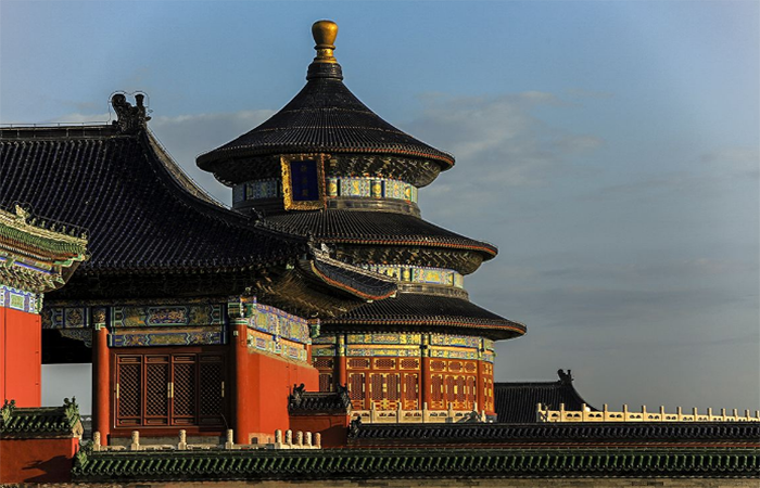 中国古建筑: 古代祭天地、祖先的坛庙