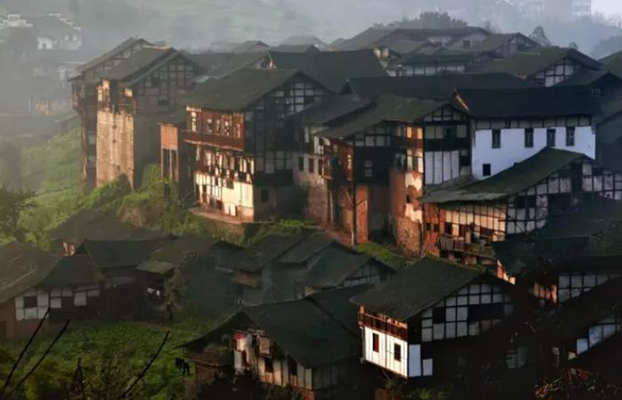 福宝古镇——中国传统村落建筑的典范