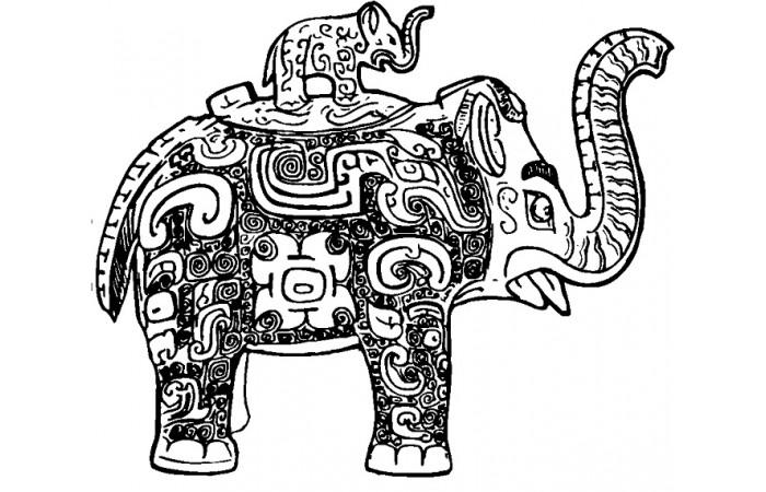 商周时代纹样图案设计元素(十一)