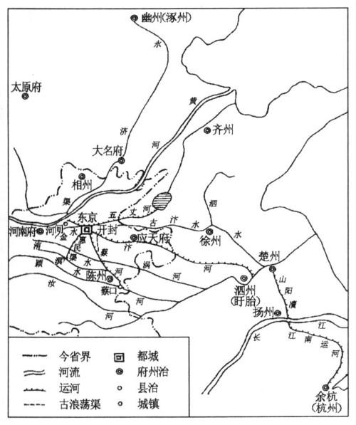 北宋东京城运河水系