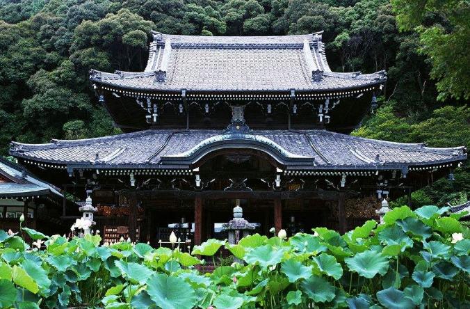 寺庙建筑中的园林