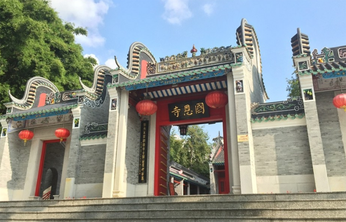 """佛教""""岭南第一圣域"""":禅文化发祥地国恩寺"""