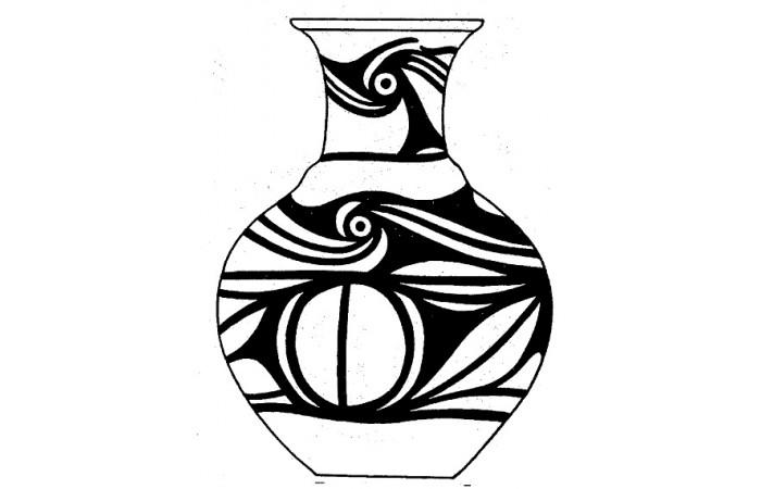 原始社会纹样设计图案(十四)
