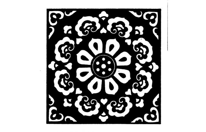 隋唐时期纹样设计图案(八)