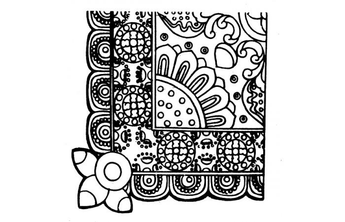 隋唐纹样时期设计图案(十一)