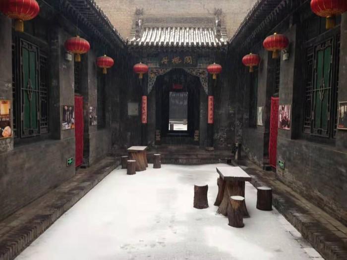 山西祁县古城内明清大院