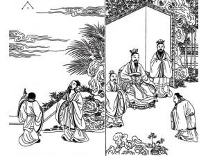 古版画教化类元素(一)