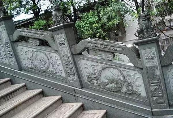 花岗岩石栏杆
