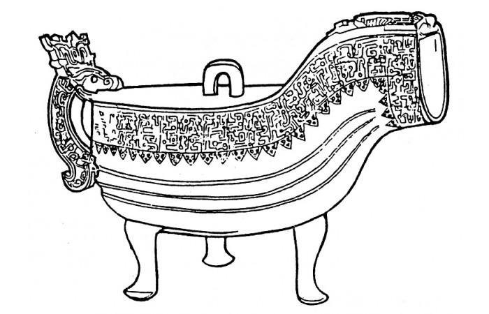 春秋戰國時期紋樣設計元素(十八)