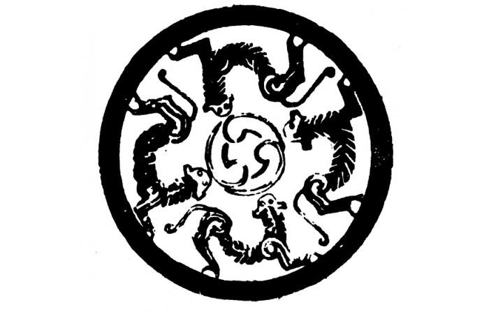 春秋戰國時期紋樣圖案(十九)