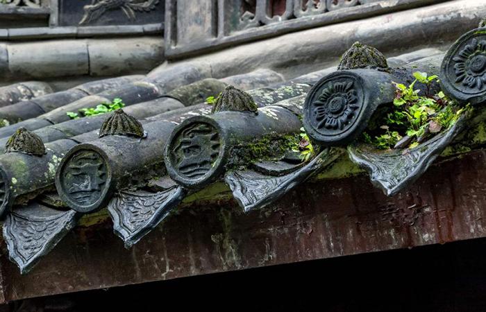 中国古建材料青瓦的颜色以及烧制流程
