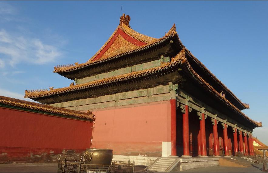 中国古建筑紫禁城