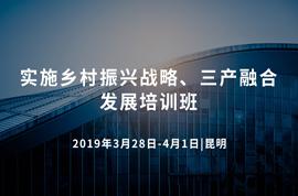 2019实施乡村振兴战略、三产融合发展培训班