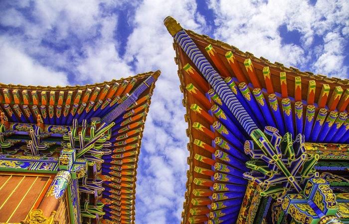 中国古建筑中的飞檐斗拱介绍