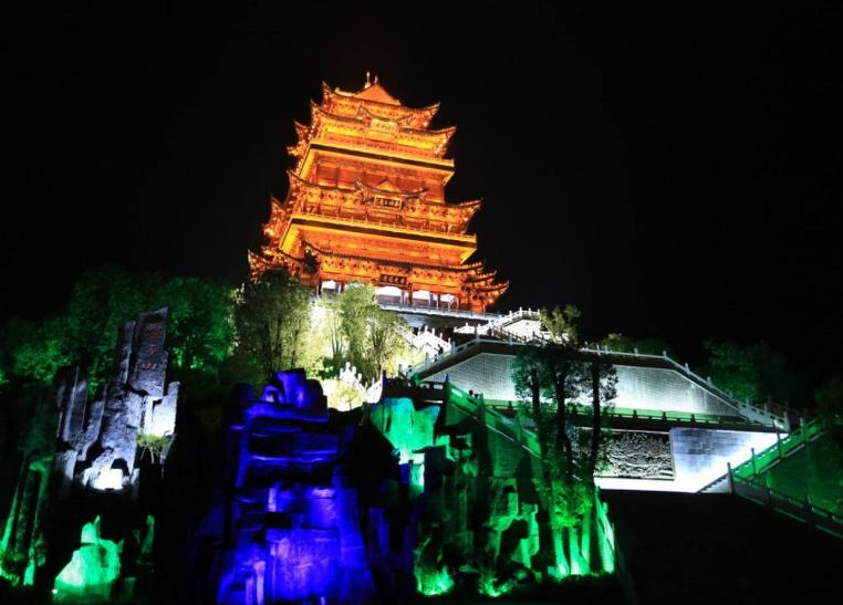 中国古建筑照明