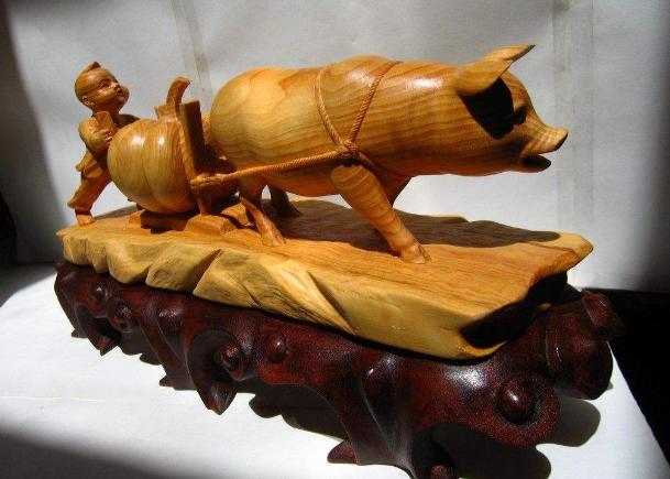 乐清黄杨木雕