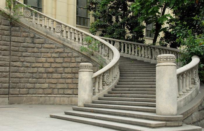 楼梯石栏杆及栏杆扶手安装注意事项!