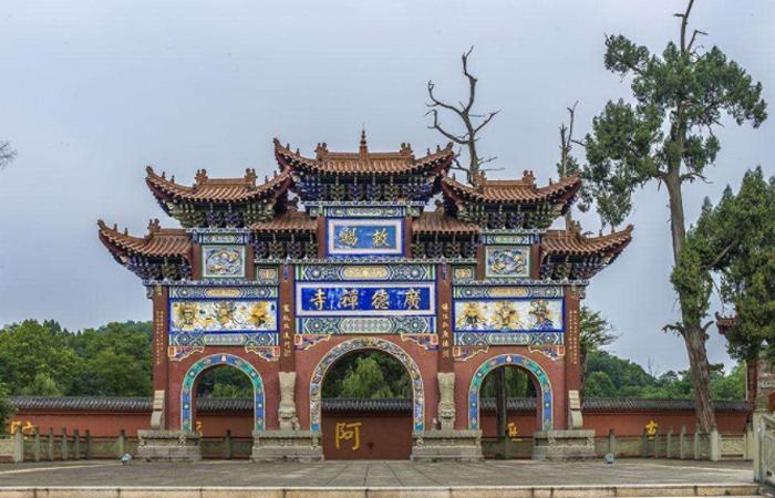"""""""西来第一禅林""""中国皇家禅林四川广德寺!"""