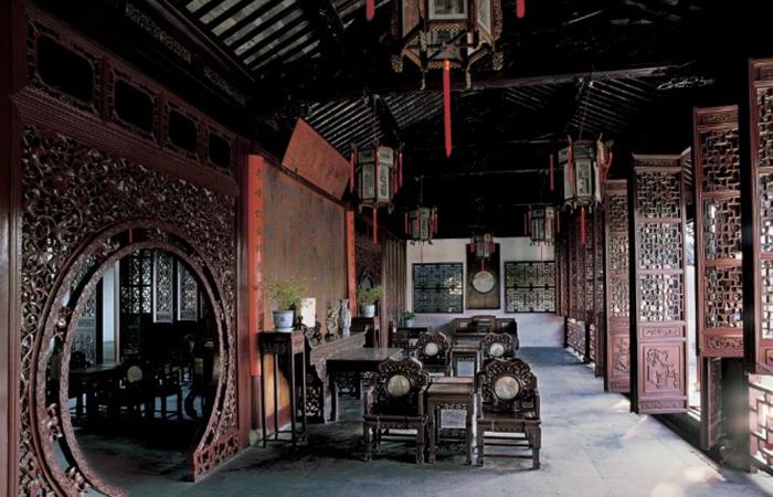 隔扇门——中国传统建筑中的装饰构件之一