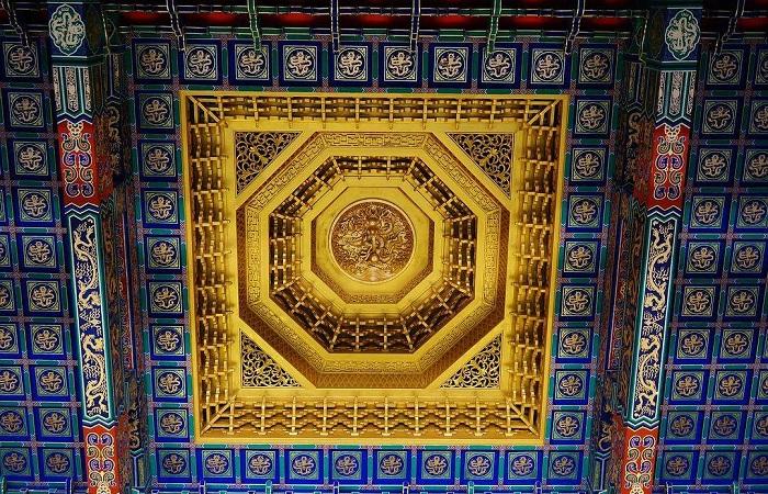 藻井天棚——中国传统建筑的艺术代表