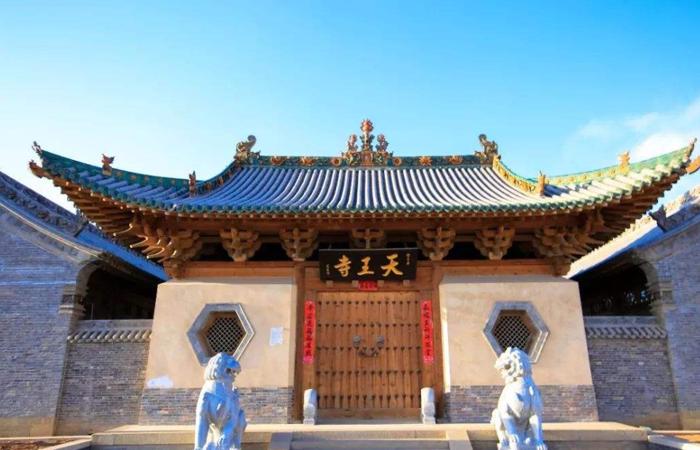 金代建筑的典型之作——长子天王寺公园