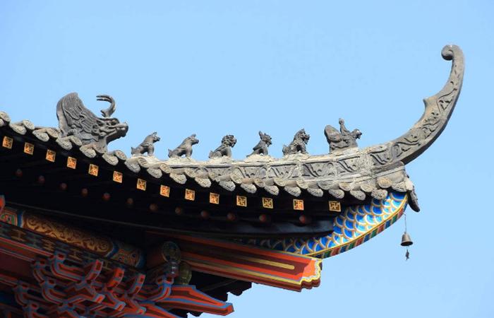 中国古代建筑飞檐除了造型优美,还有什么功能?