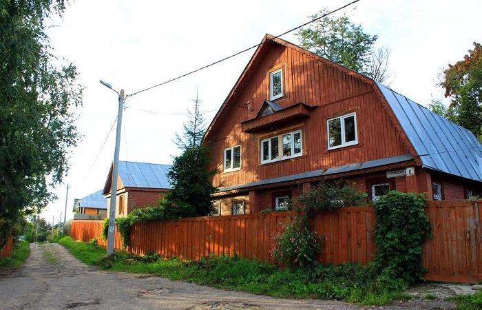 芬兰木屋别墅