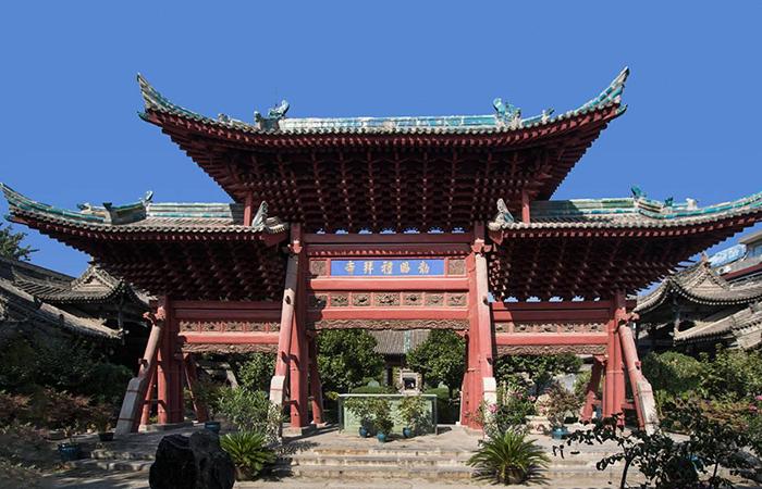 西安清真寺:世界上唯一一座中国园林式清真寺