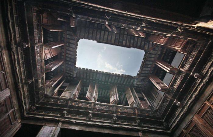 古代建筑构造和布局,是如何采光的?