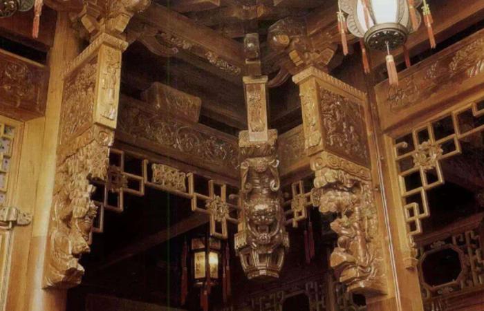 中国古建筑的细节之美,雀替文化及纹样元素介绍