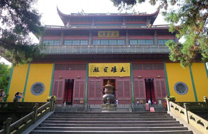杭州灵隐寺——禅宗圣地佛教文化研究地