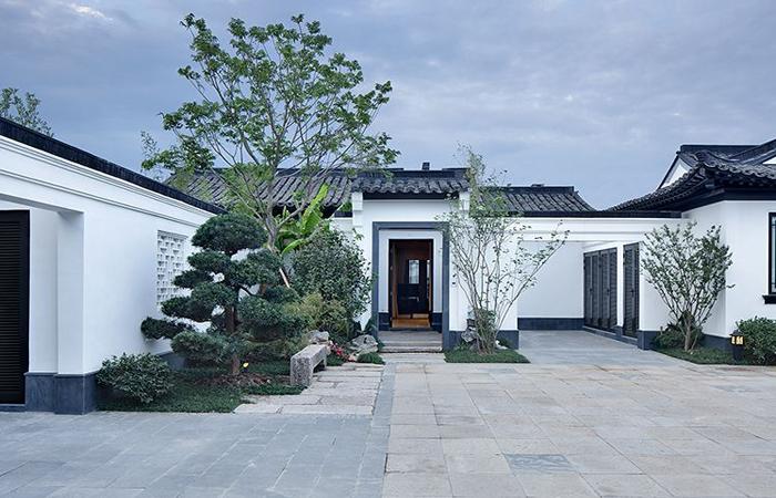 中式别墅庭院设计其中风水知识的奥妙讲解