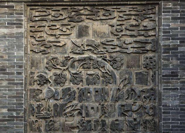 古建筑材料砖雕