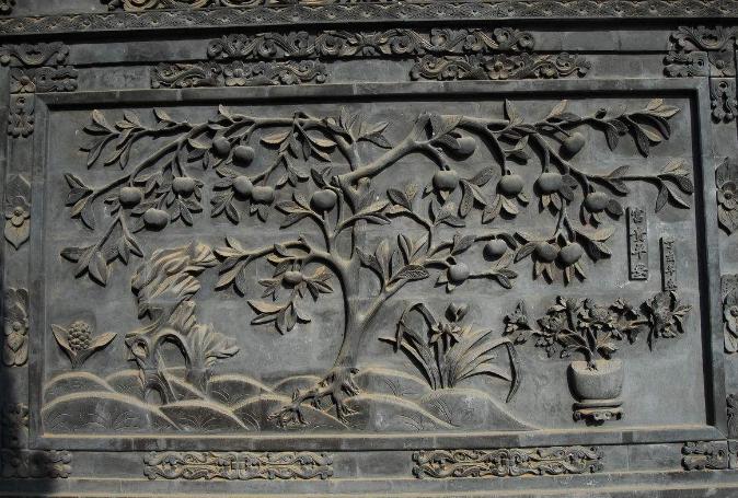 苏州地区砖雕