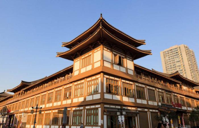 中国古建筑历史发展和风格演变:唐宋古建筑的差异