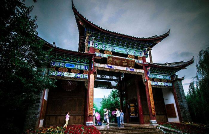 古色古香束河古镇——茶马古道的曾经的驿站