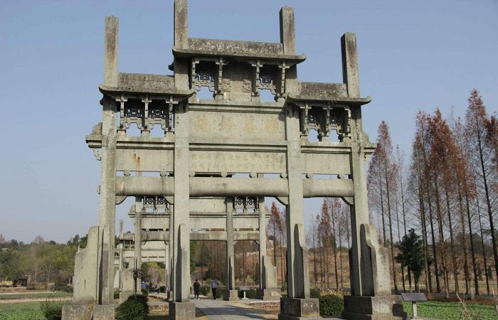 徽州牌坊——徽州古建五大特色之一